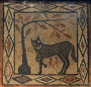 Aldborough she-wolf Romulus Remus 300-400 CE