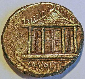 Tempel_Jupiter_Optimus denarius 78 BCE