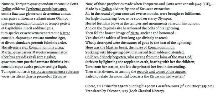 Cicero Consulatus Suus