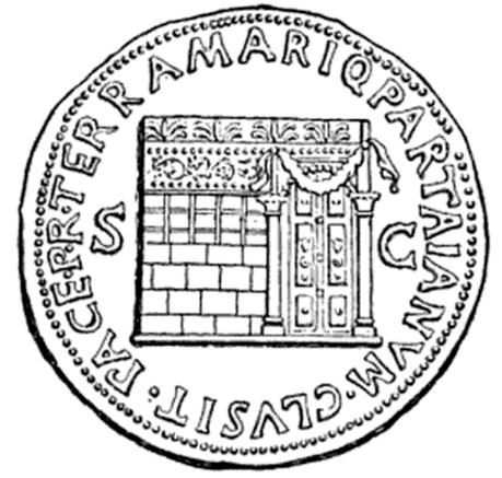 Dennison Vergil p208 Temple of Janus