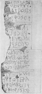 Lapis Niger stele John Edwin Sandys, Epigraphy, in A Companion to Latin Studies (ed. John Edwin Sandys), Cambridge, Cambridge University Press, 1913; p. 732, plate 107.