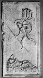 Mars Seducing Rhea Silvia 1st c - 3rd c CE Vatican City