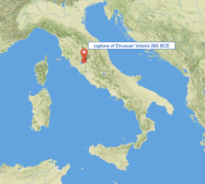 Etruscan Volsinii peripleo capture 265 BCE