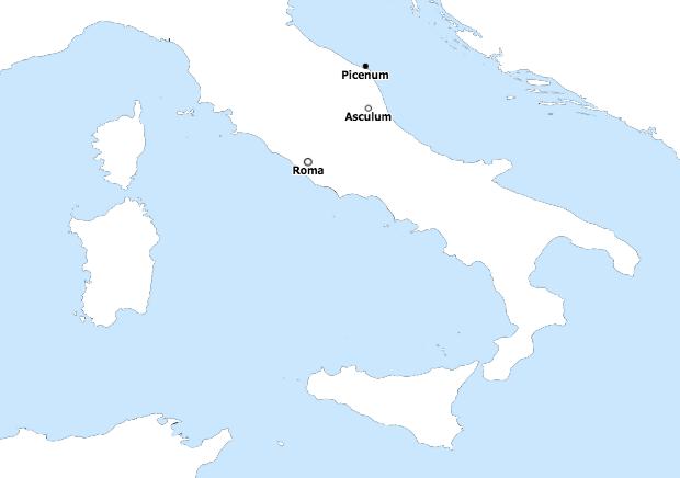 Picenum Asculum Roma AWMC