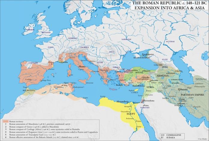 Roman Republic 148-121