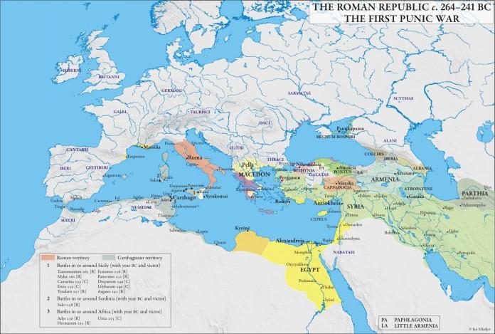 Roman Republic 264-241 First Punic War Mladjov.jpg