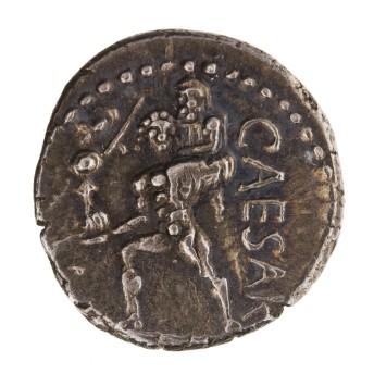 Aeneas Silver Denarius, Africa, 47 B.C. - 46 B.C.. 1948.19.232