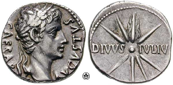 Augustus c. 19-18 sidus iulium