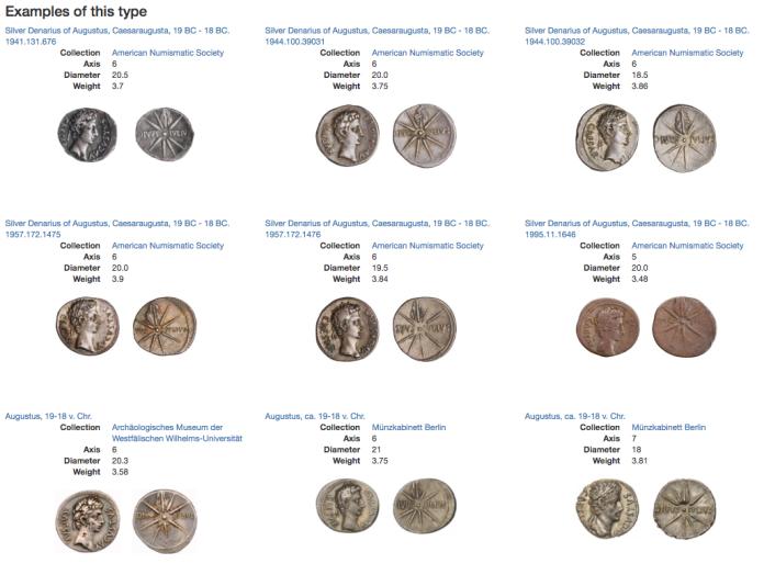 iulium sidus coin type