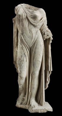 MFA 1 Statue of Aphrodite or a Roman lady Roman Imperial Period about mid-1st century A.D.