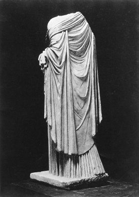 MFA 2 Statue of Aphrodite or a Roman lady Roman Imperial Period about mid-1st century A.D.