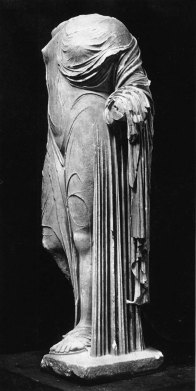 MFA 3 Statue of Aphrodite or a Roman lady Roman Imperial Period about mid-1st century A.D.