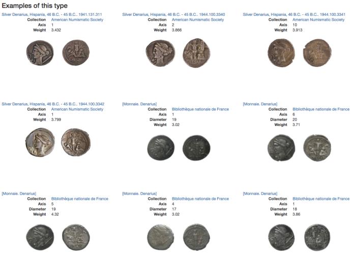 Venus star JC coin type