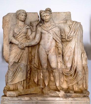 Aphrodisias Claudius w Agrippina