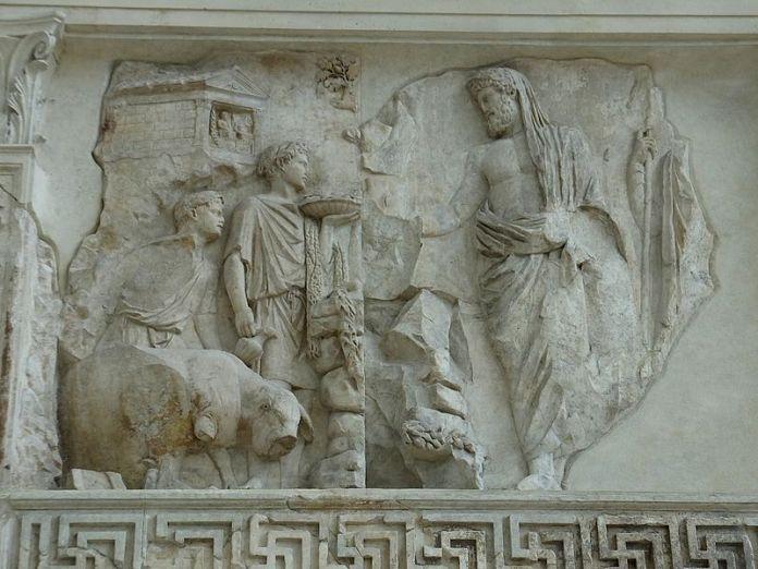 Ara_Pacis_Aeneas-Numa_(14727962756)