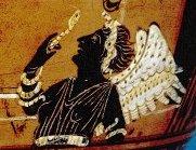 Euripides Oineus Paestum black fury focus