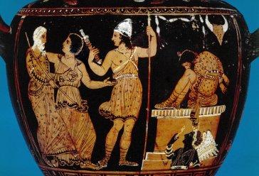 Euripides Oineus Paestum black fury