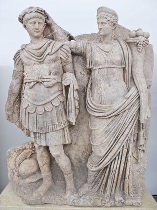 Aphrodisias Agrippina and Nero